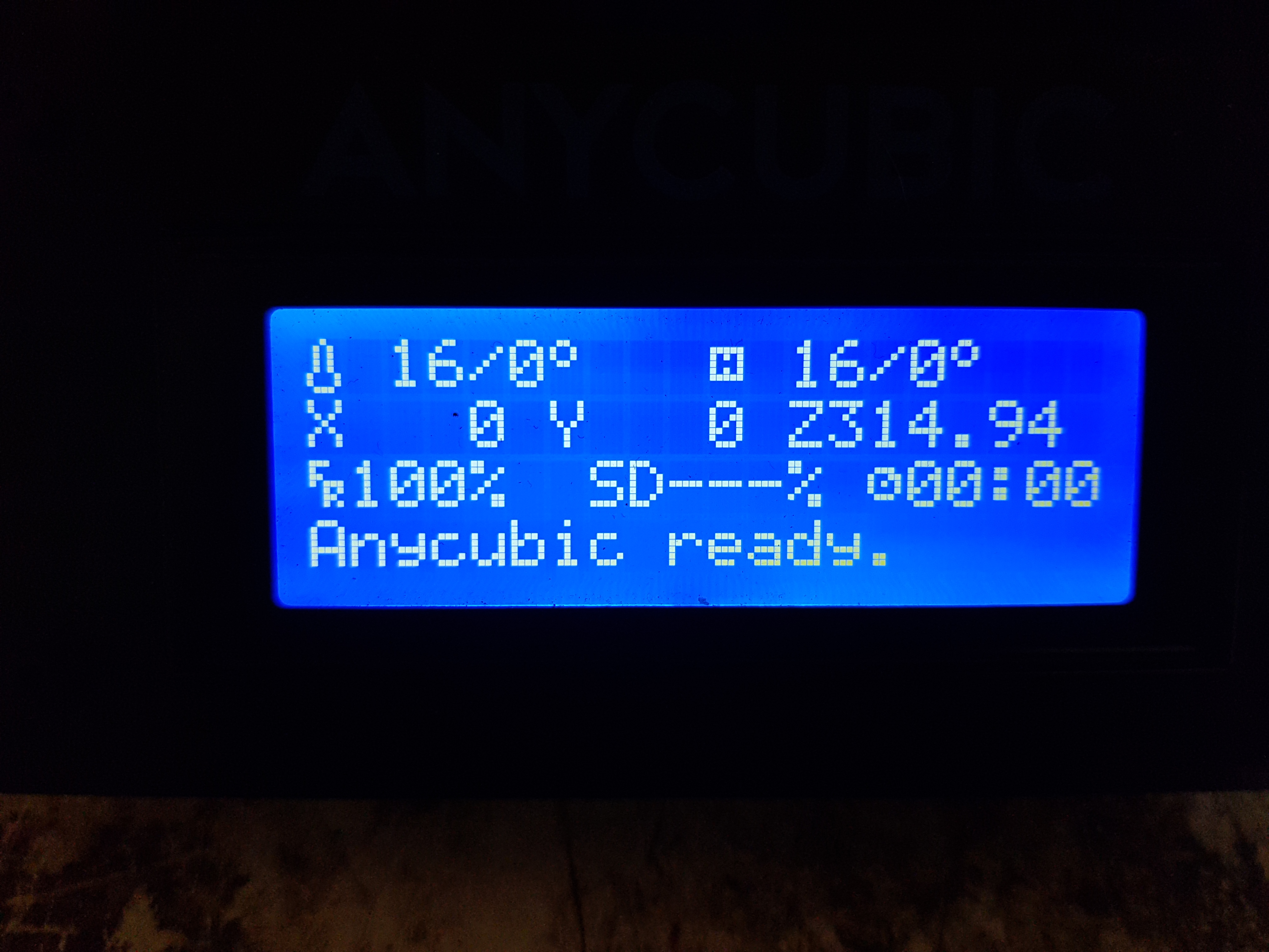 anycubic kossel delta hex file firmware
